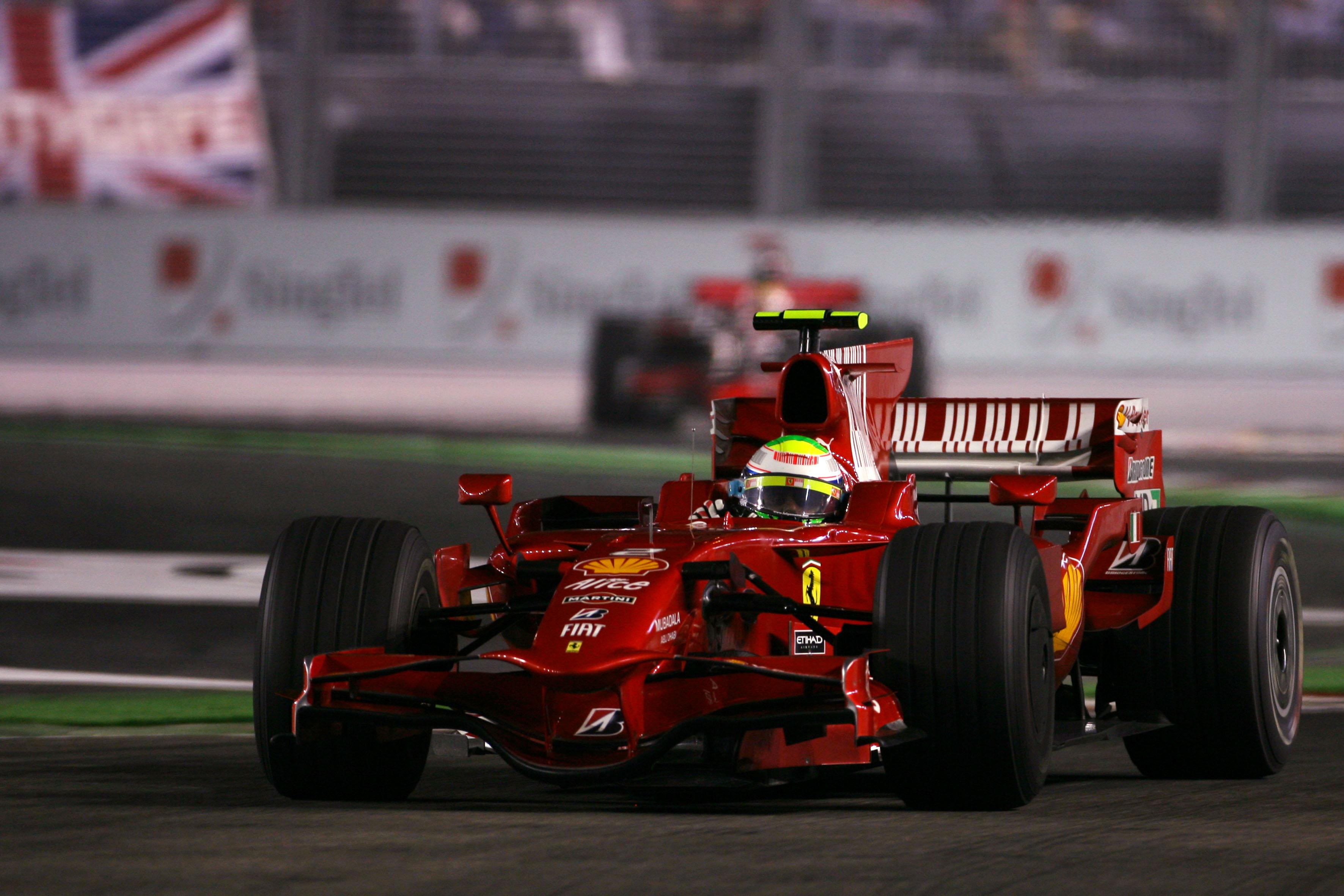 Felipe Massa, Ferrari, 2008 F1 runner-up
