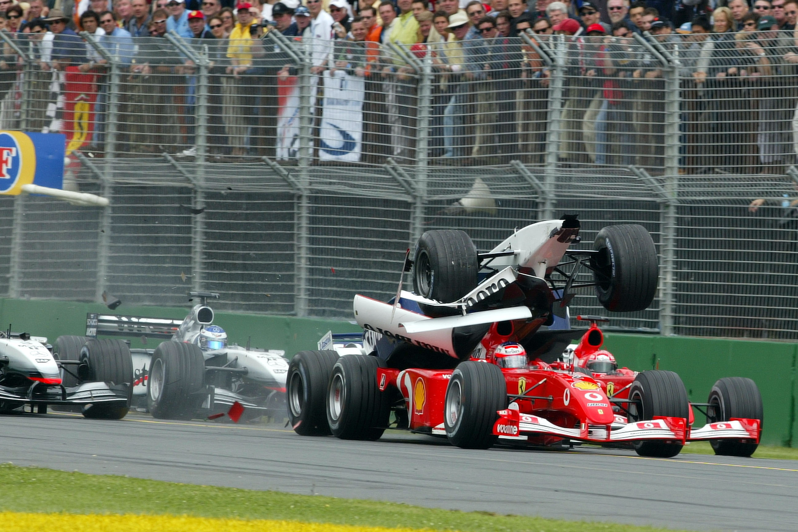 F1 2002, Australian Grand Prix, start