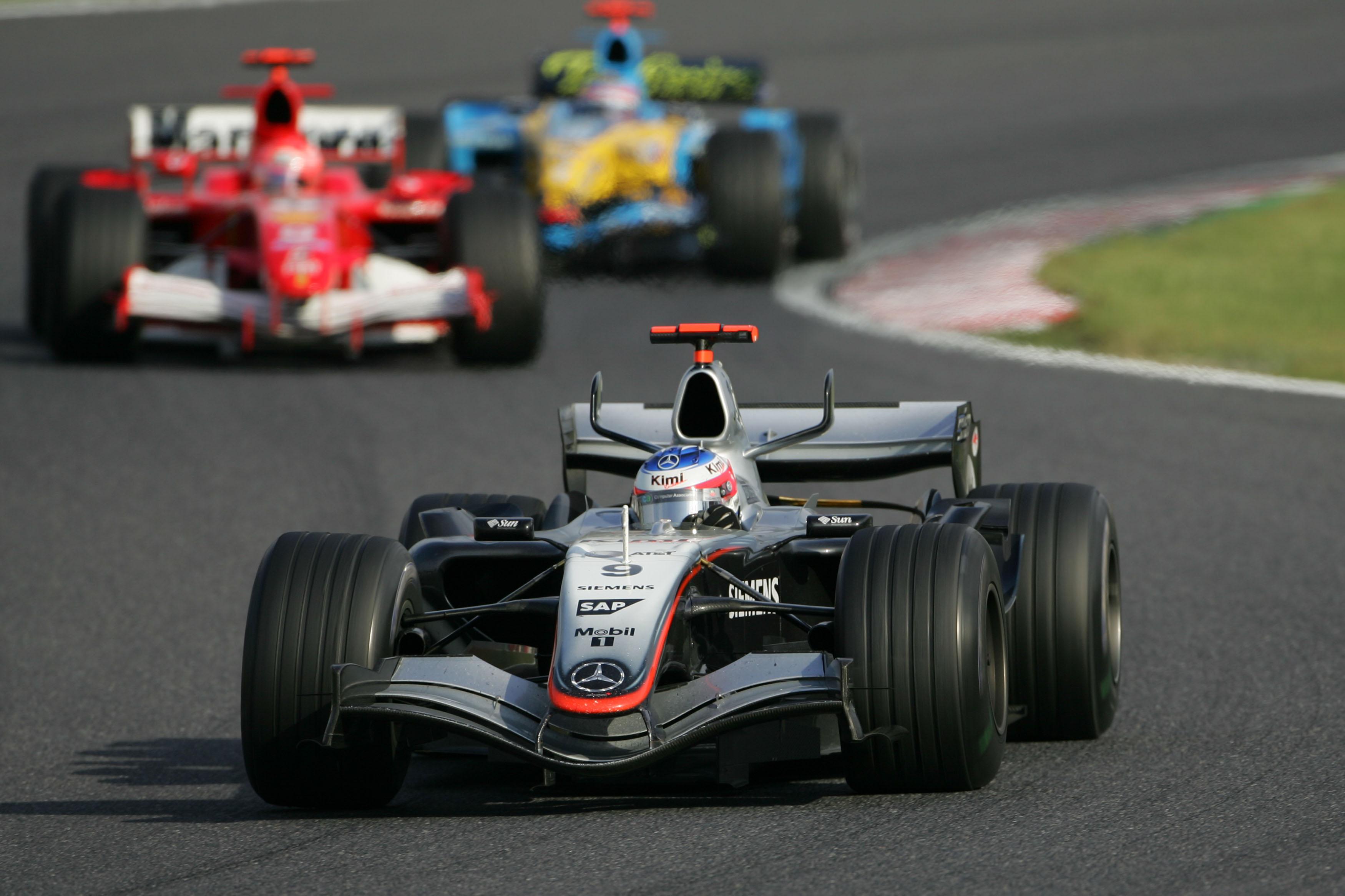 Kimi Raikkonen, McLaren, Japanese Grand Prix, F1 2005