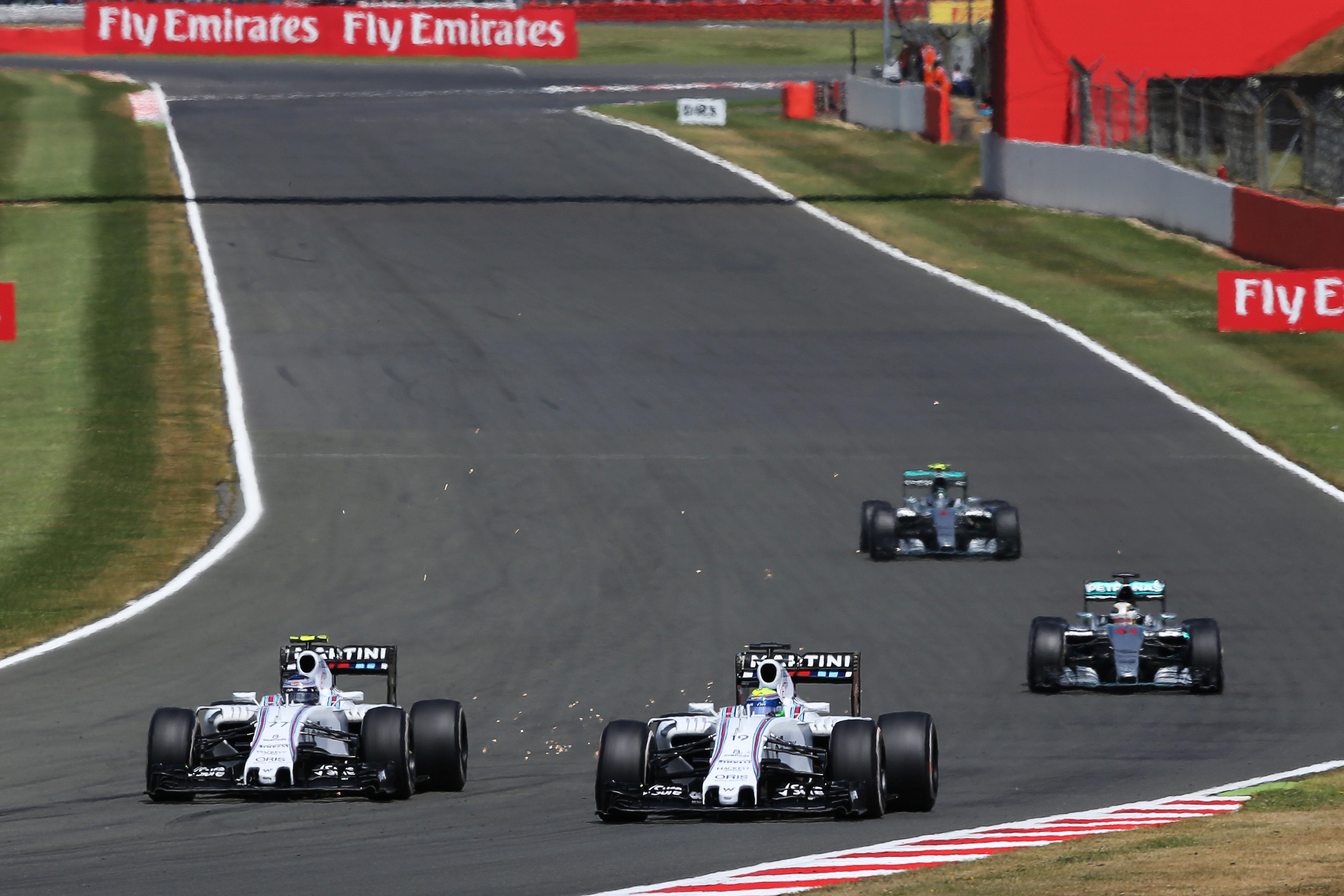 F1 2015, British GP, Williams, Mercedes