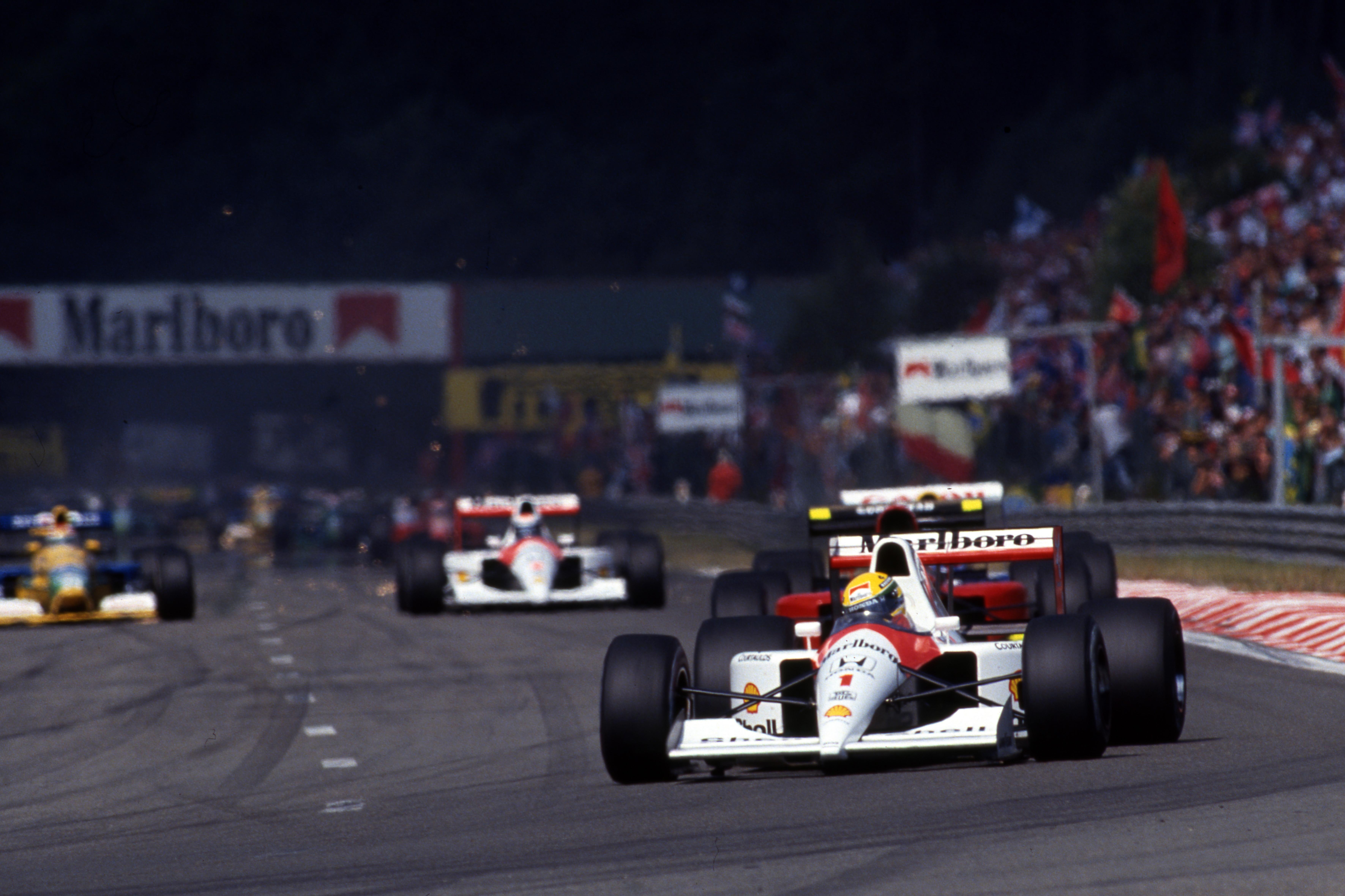 Ayrton Senna, McLaren, F1 1991, Belgian Grand Prix