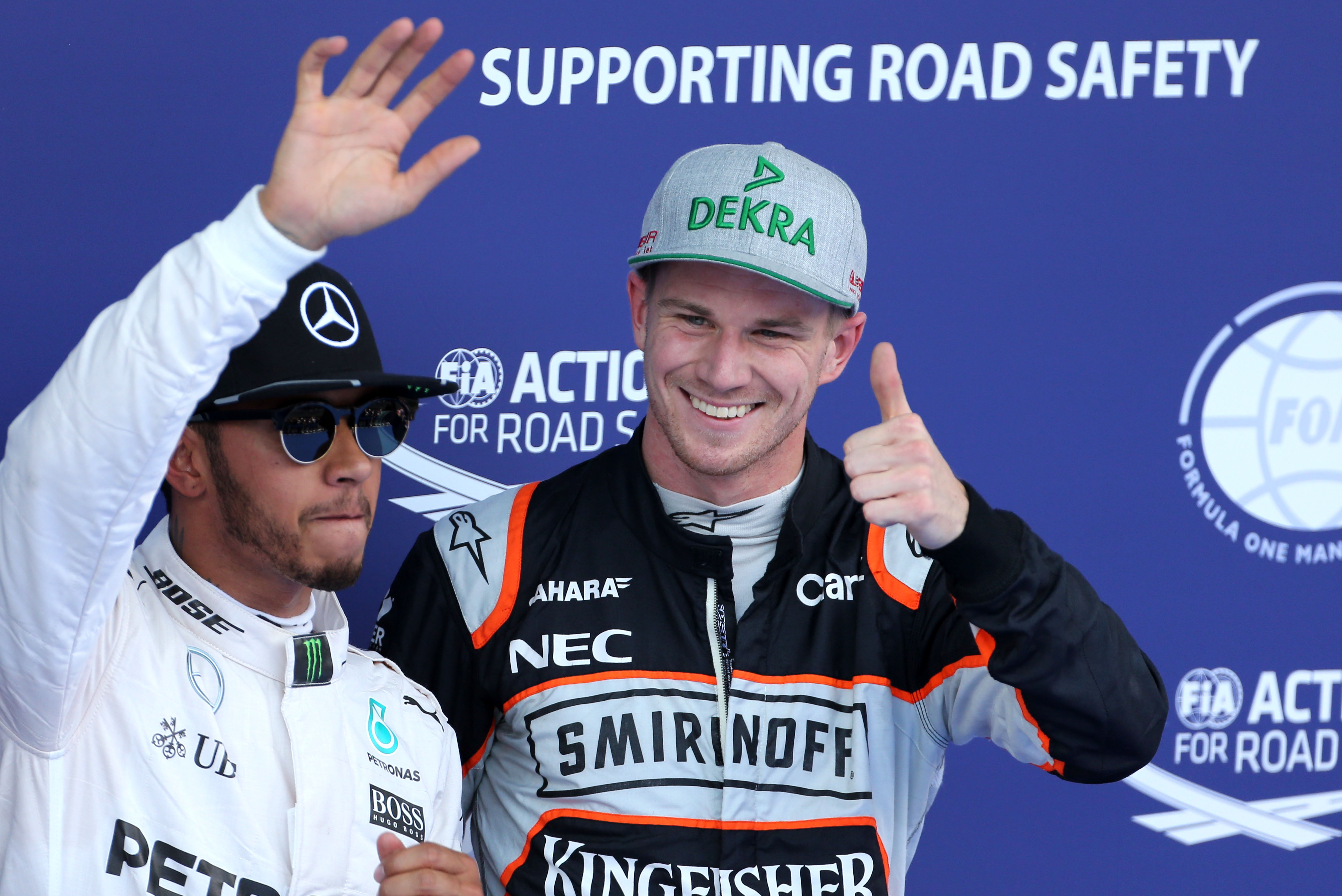 Lewis Hamilton, Nico Hulkenberg, Austrian Grand Prix qualifying, F1 2016