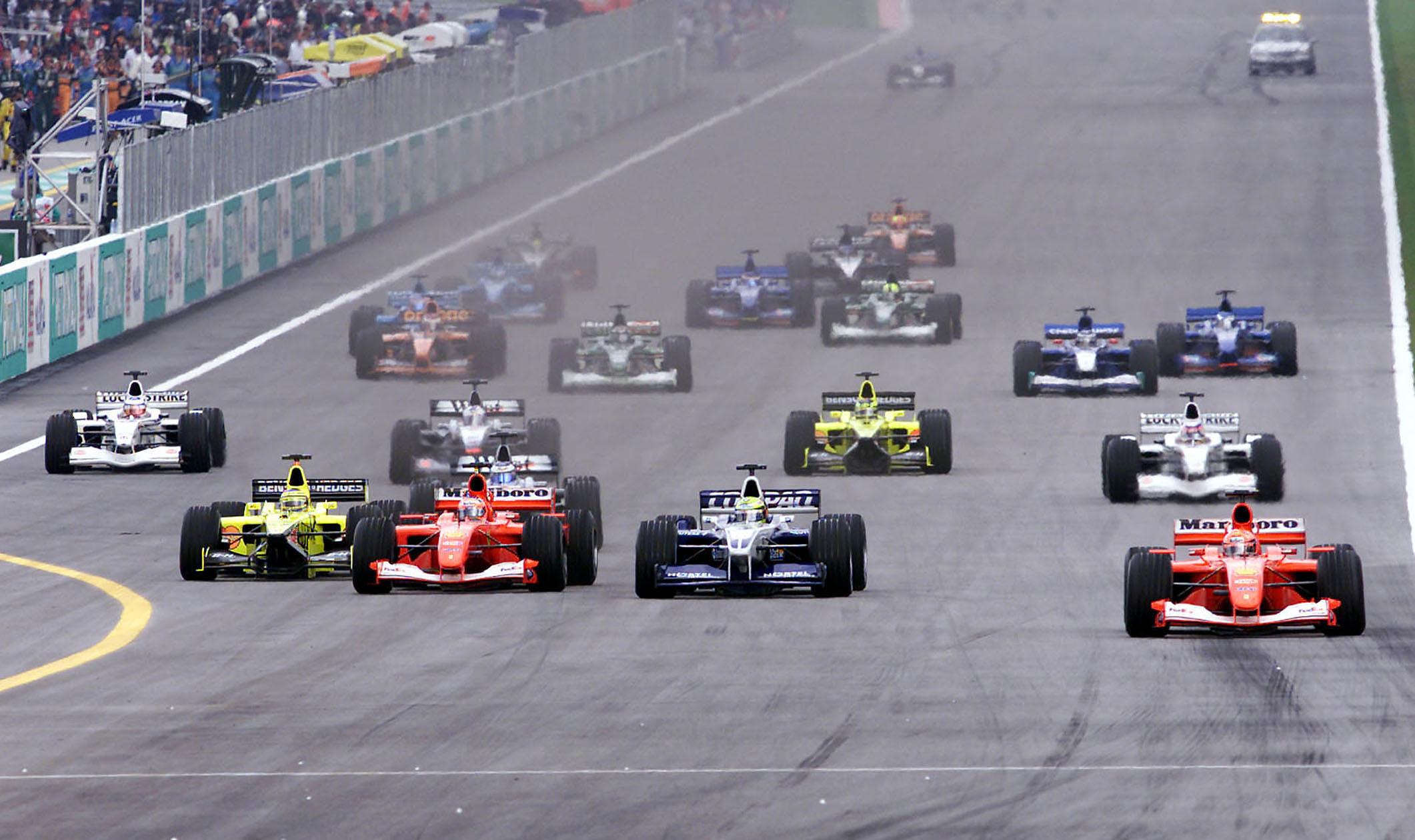 F1 2002, Malaysian GP start