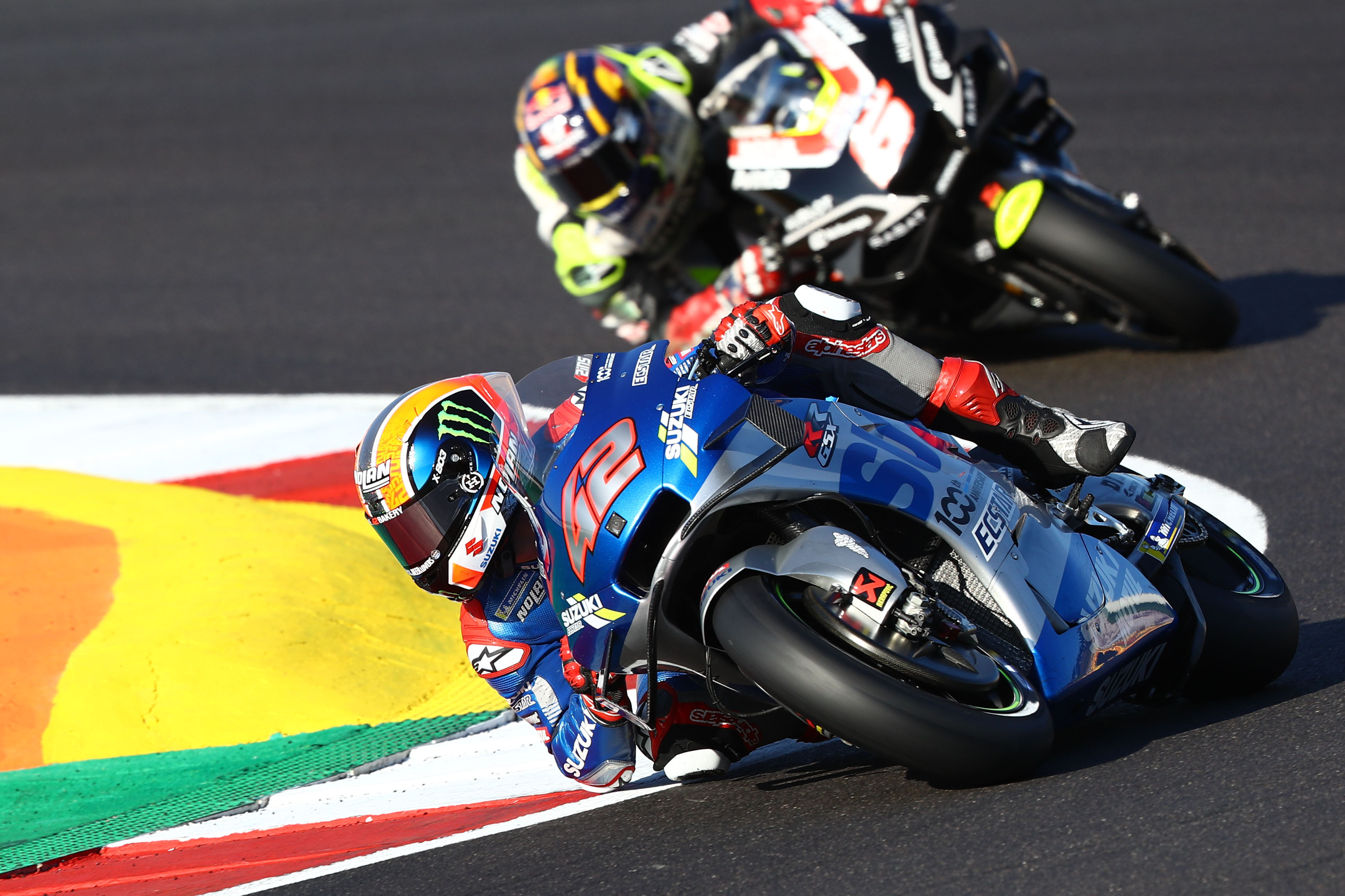 Alex Rins and Johann Zarco, Portimao MotoGP