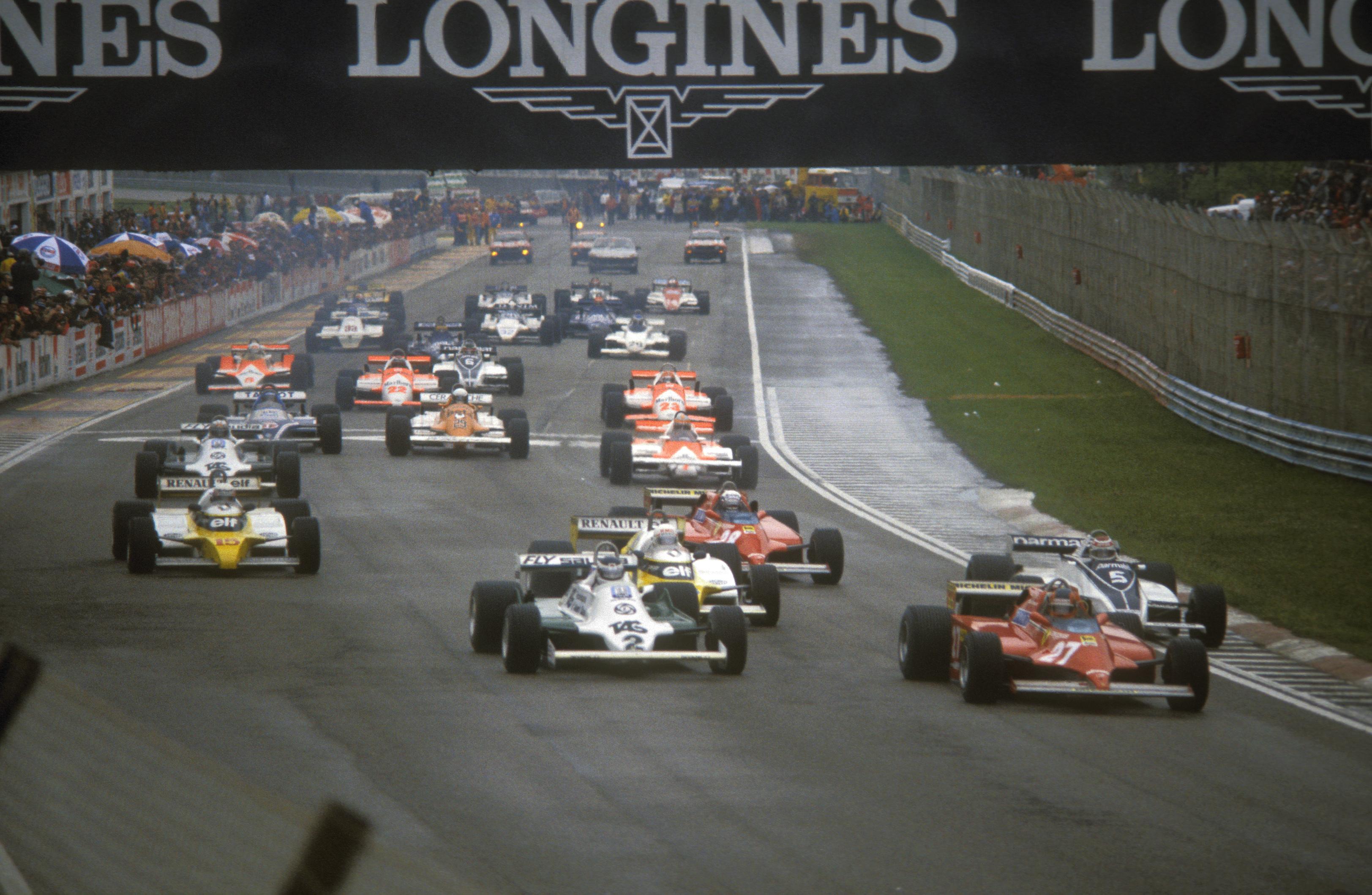 Gilles Villeneuve, San Marino Grand Prix, F1 1981