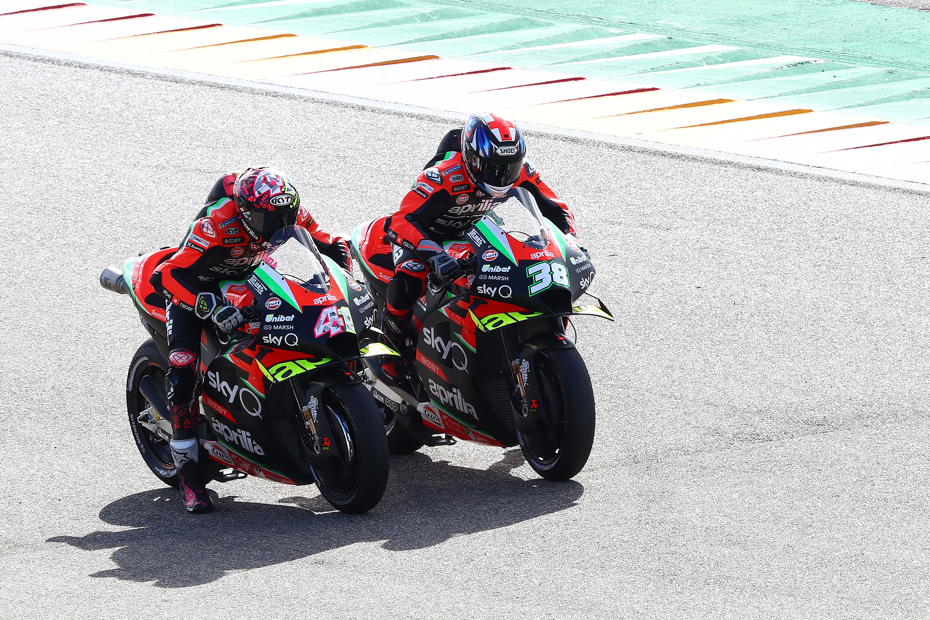 Aleix Espargaro and Bradley Smith, Aprilia, MotoGP