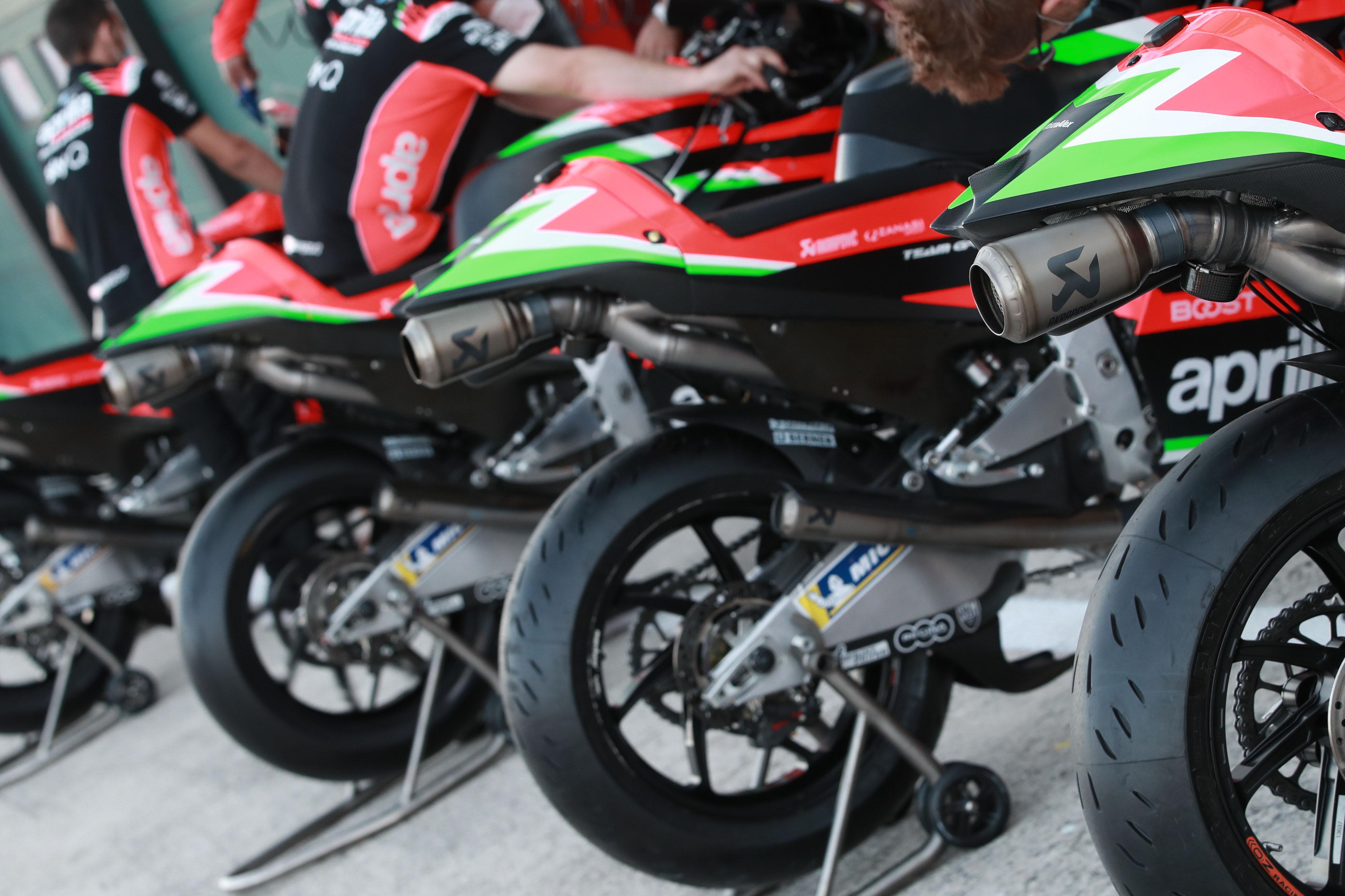 Aprilia MotoGP bikes