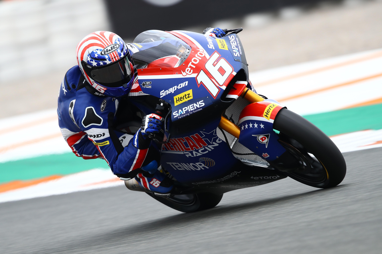 Joe Roberts, Moto2, Valencia Motogp, 13 November 2020