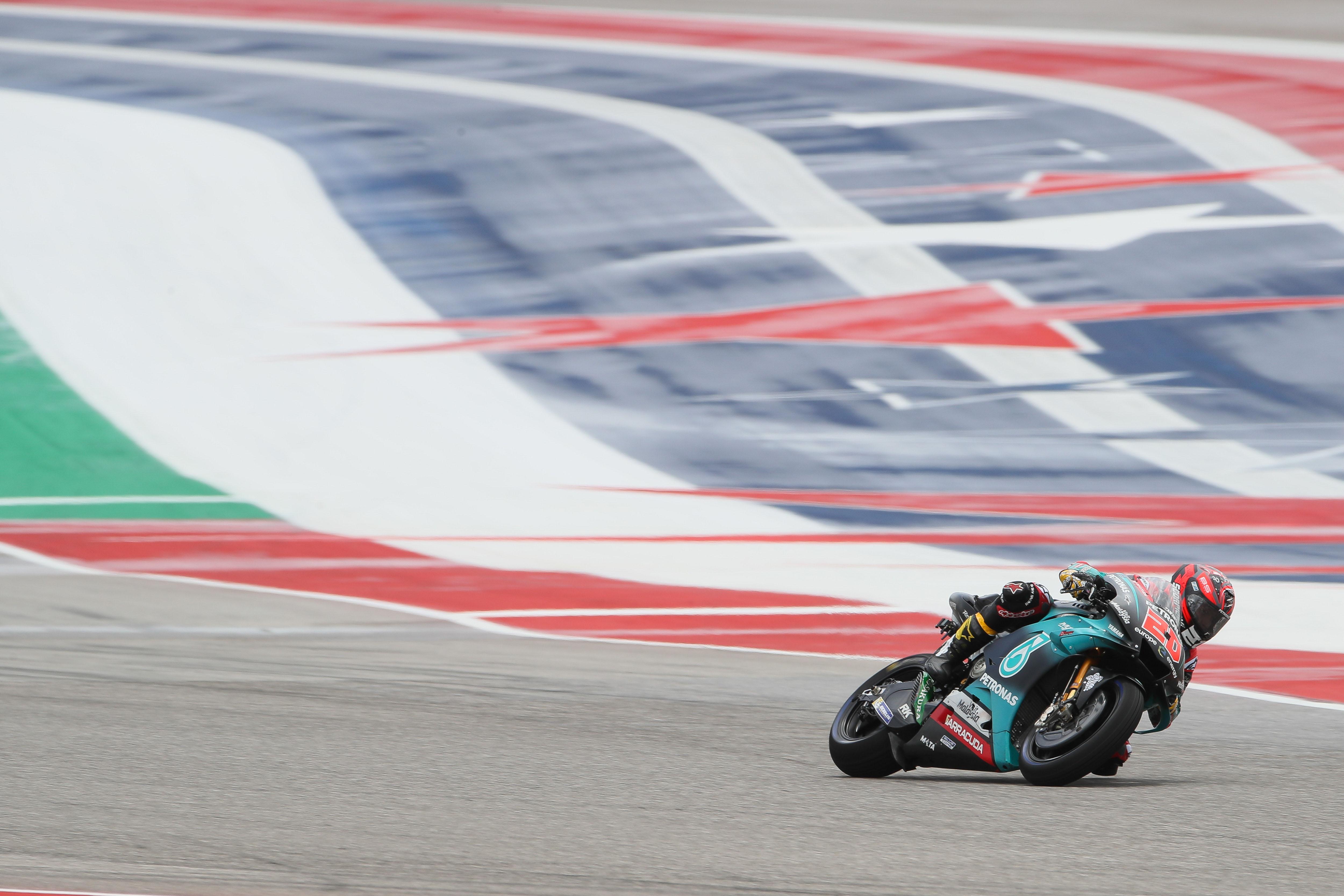 Fabio Quartararo Petronas SRT Yamaha Austin MotoGP 2020