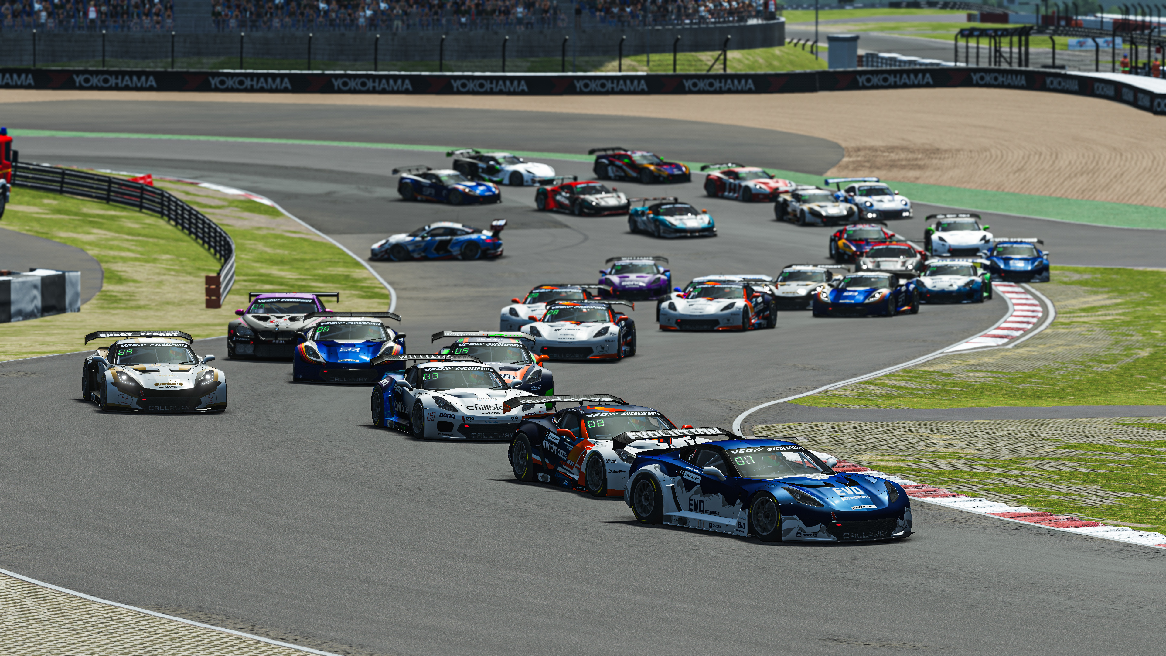 Gt Pro S2 R4 Feature Race Start Pic