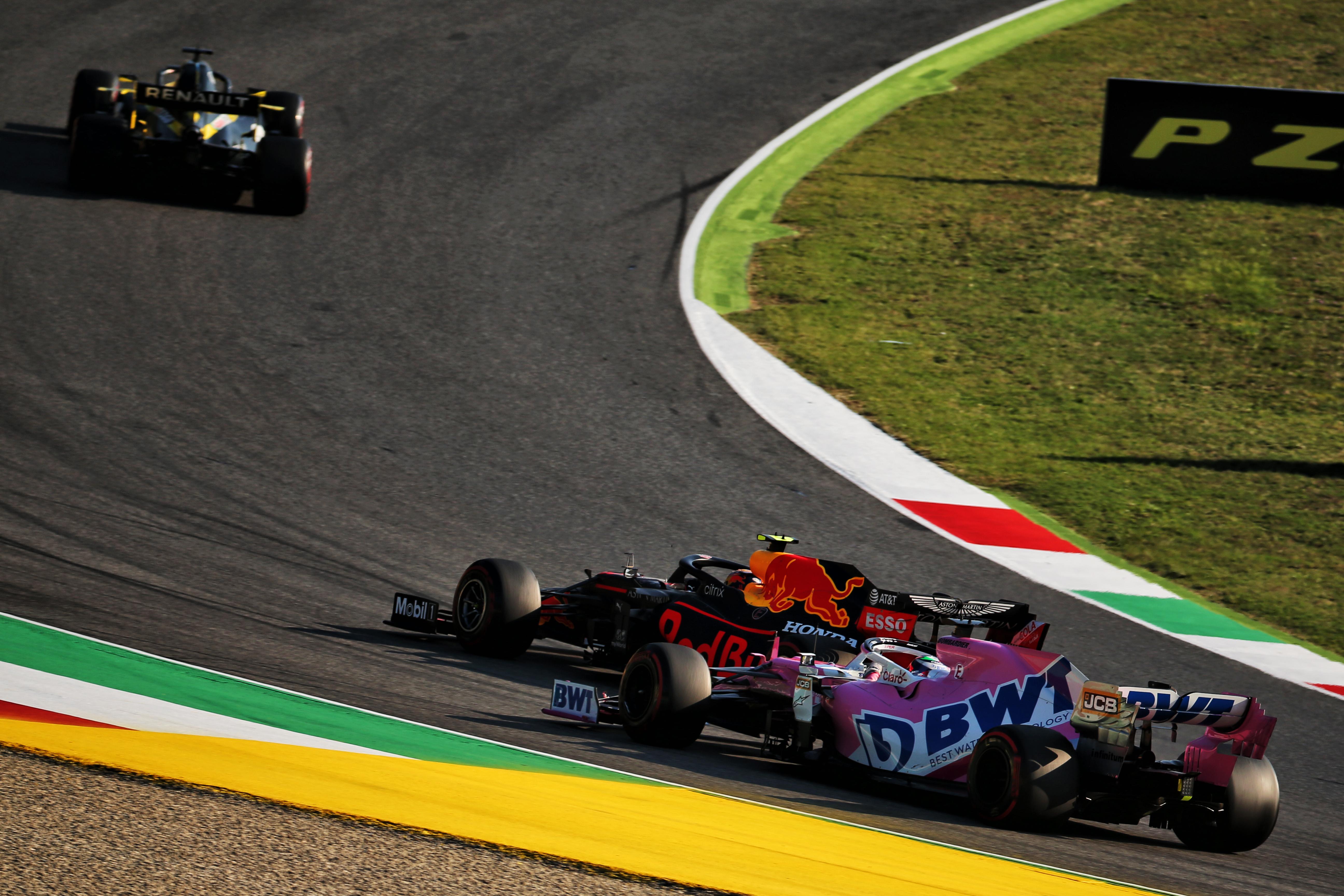 Alex Albon Sergio Perez Racing Point Red Bull F1 2020