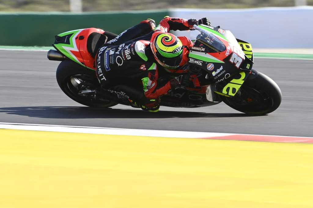 Lorenzo Savadori Aprilia Portimao MotoGP 2020