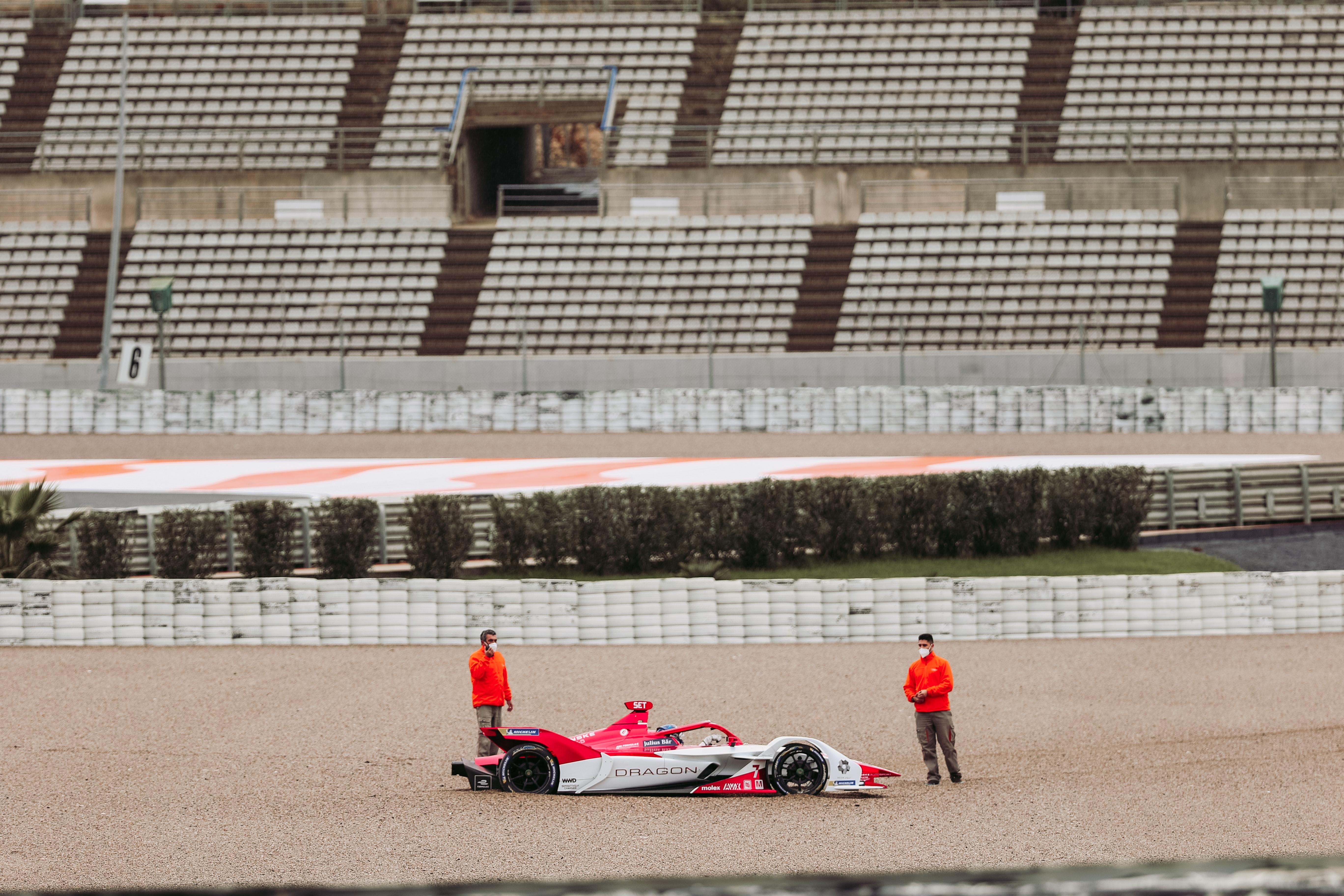 Sergio Sette Camara, Dragon, Formula E testing