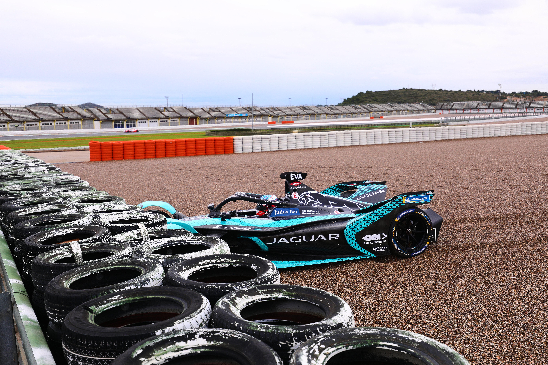 Mitch Evans, Jaguar, Formula E testing
