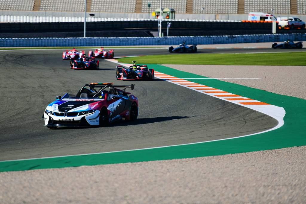 Formula E Valencia testing exercise race