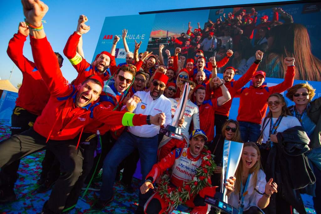 Jerome D'Ambrosio wins Marrakesh Formula E 2019