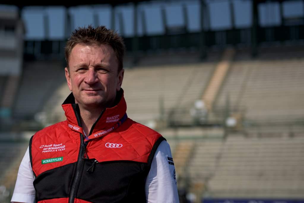 Allan McNish Audi Formula E 2020