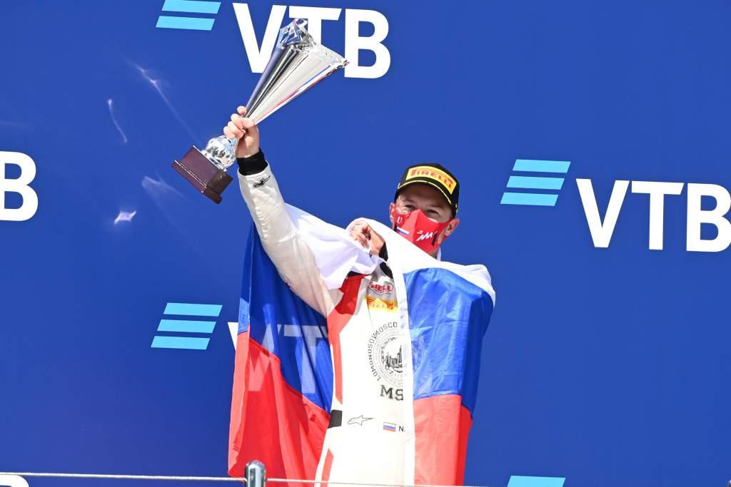 Motor Racing Fia Formula 2 Championship Sunday Sochi, Russia