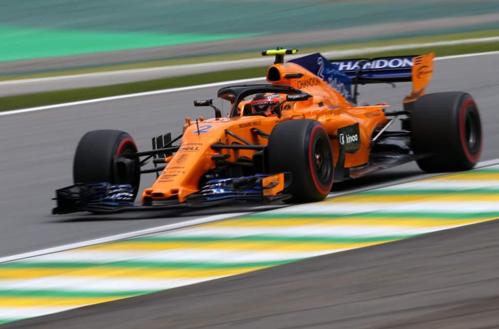 Motor Racing Formula One World Championship Brazilian Grand Prix Qualifying Day Sao Paulo, Brazil