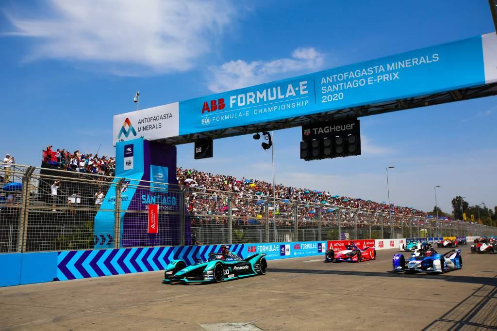 Formula E Santiago calendar 2020