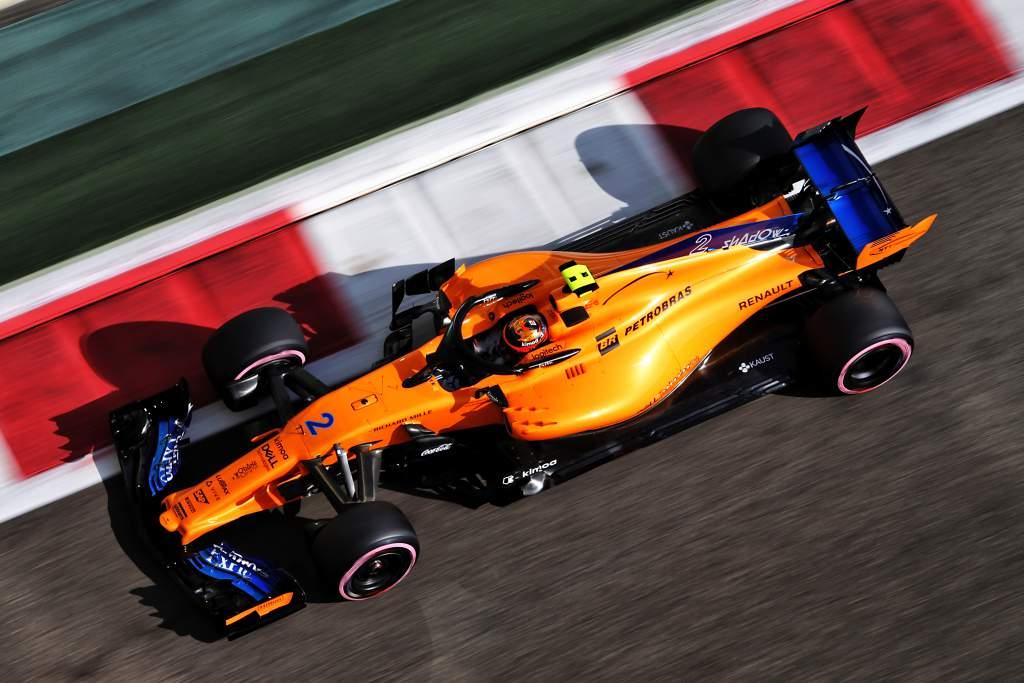 Stoffel Vandoorne McLaren F1 2020