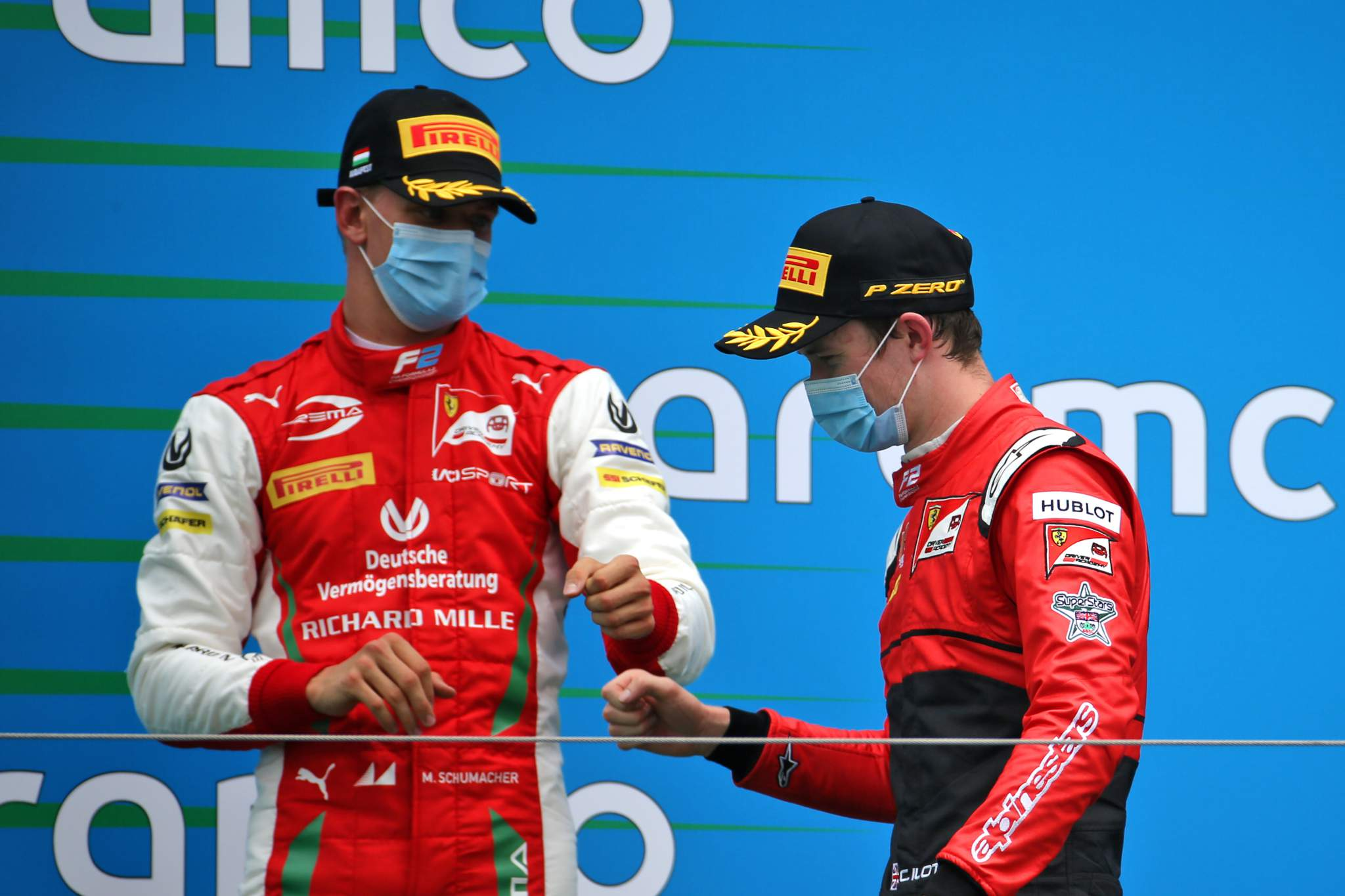 Motor Racing Fia Formula 2 Championship Sunday Budapest, Hungary