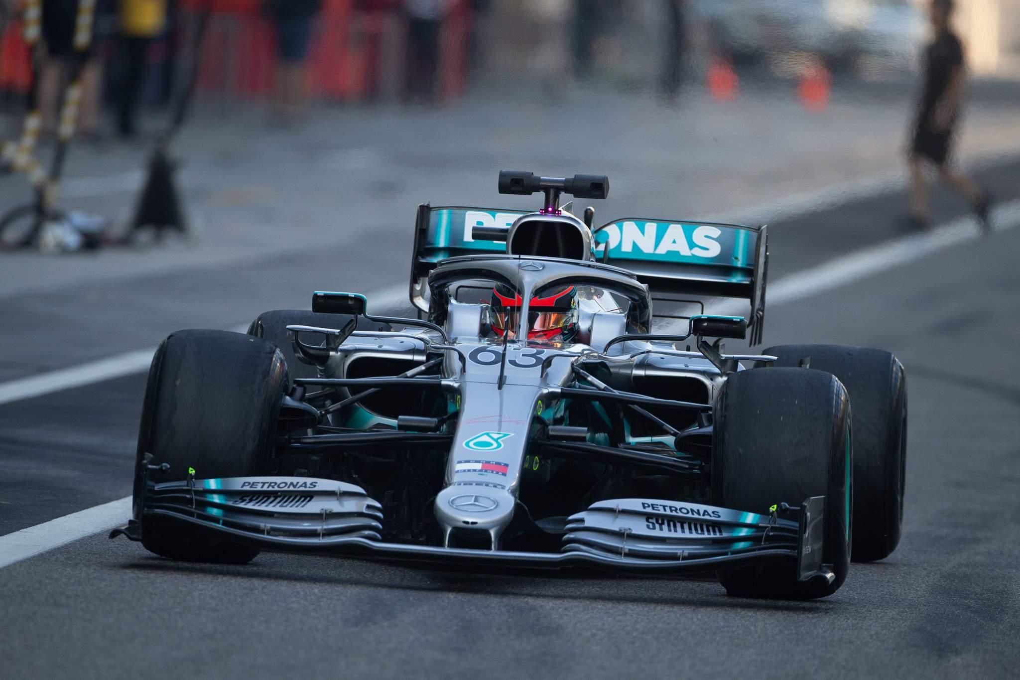 Motor Racing Formula One Testing Abu Dhabi, Uae