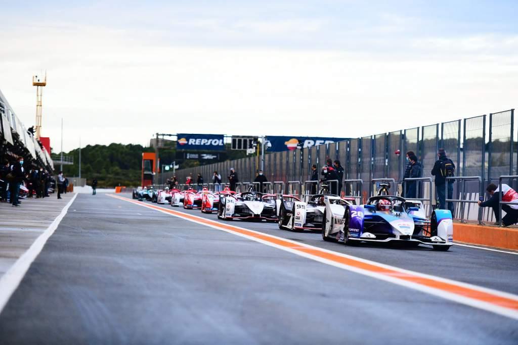 Formula E pre-season testing