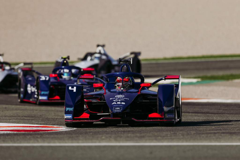 Robin Frijns and Nick Cassidy, Envision Virgin, Formula E testing