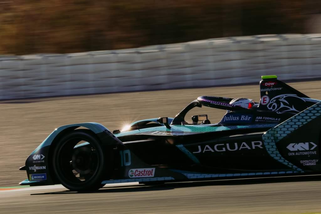 Sam Bird, Jaguar, Formula E testing