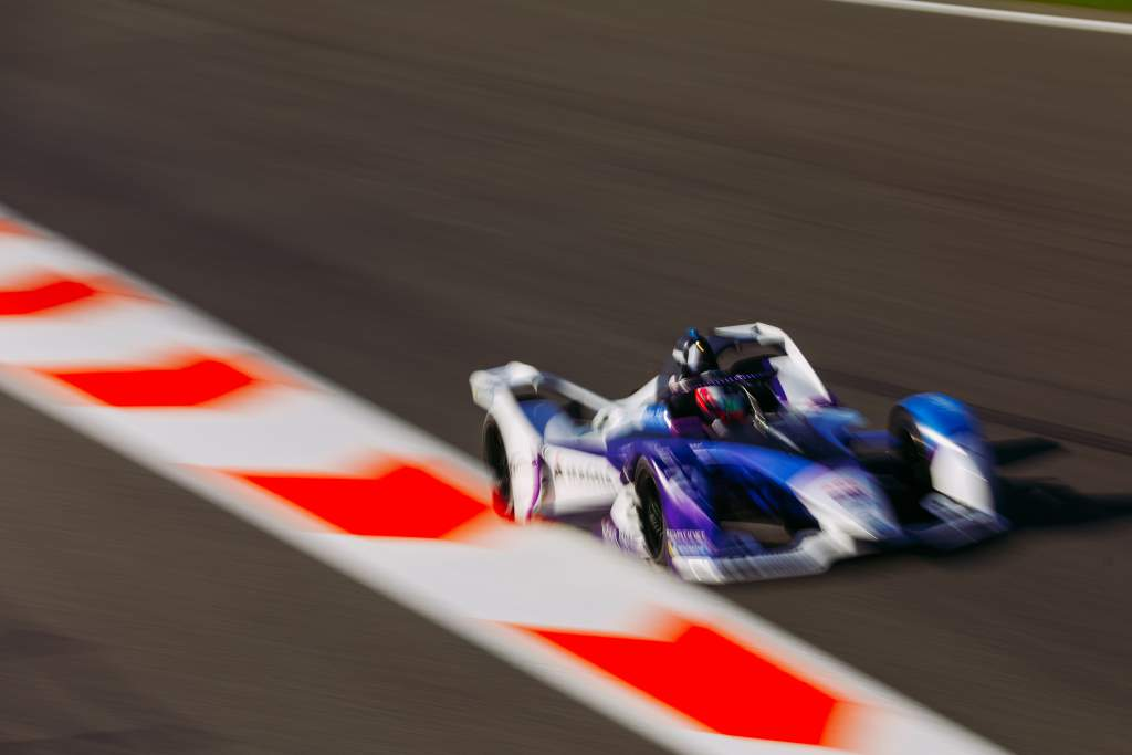 Jake Dennis, BMW, Formula E testing