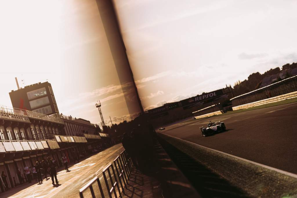 Sebastien Buemi, Nissan, Formula E testing