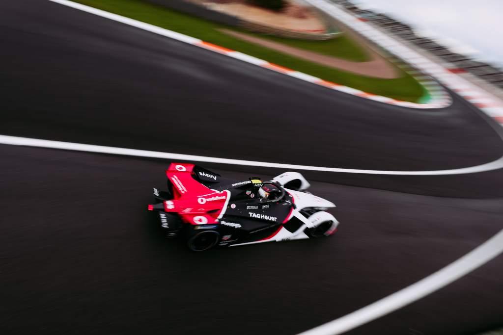 Pascal Wehrlein, Porsche, Formula E testing