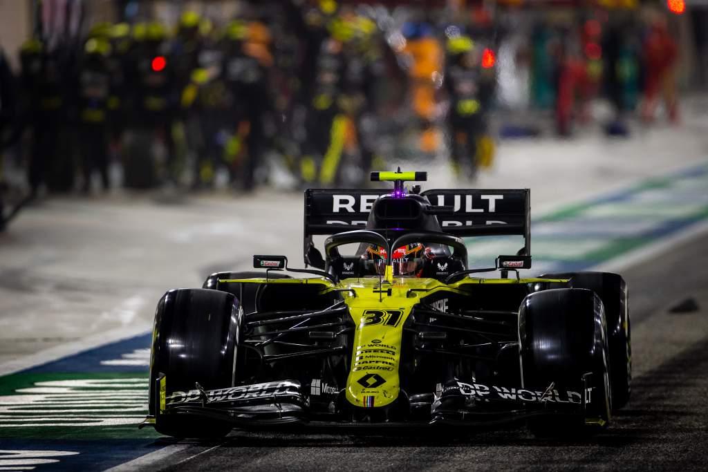 Esteban Ocon Renault F1 2020