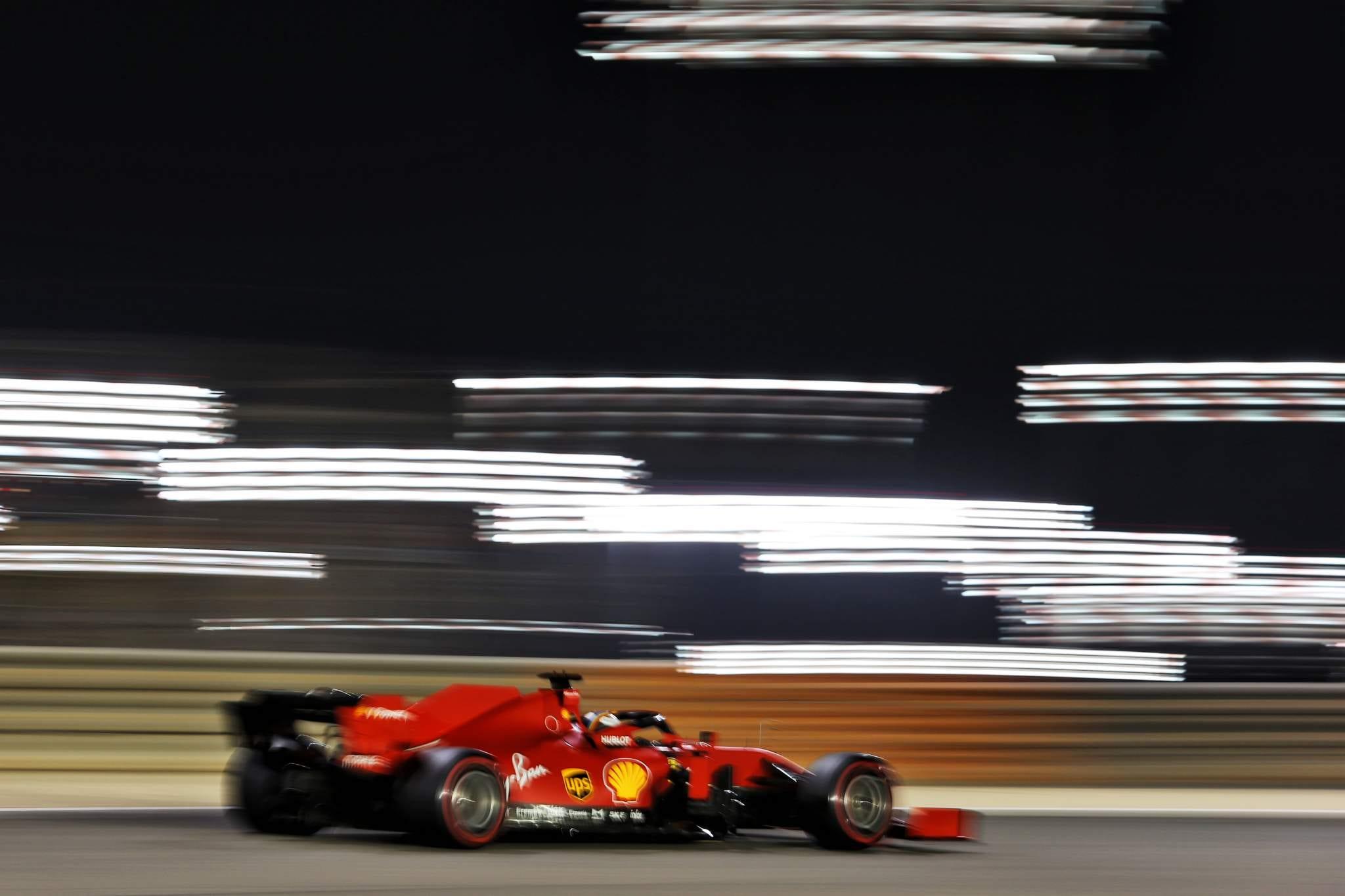 Motor Racing Formula One World Championship Bahrain Grand Prix Qualifying Day Sakhir, Bahrain