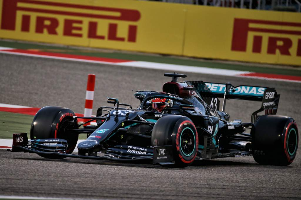 Russell fastest in first practice session with Mercedes - The Race