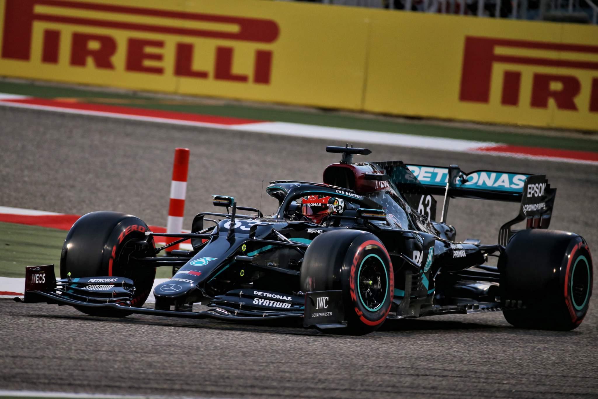 George Russell Mercedes Sakhir Grand Prix 2020