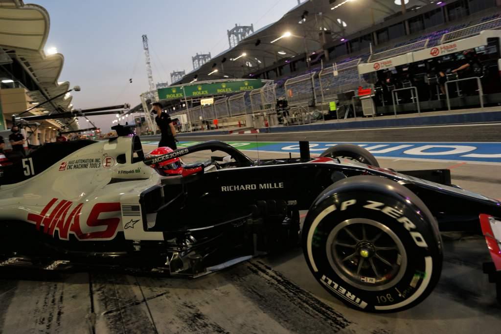Pietro Fittipaldi Haas Sakhir Grand Prix 2020
