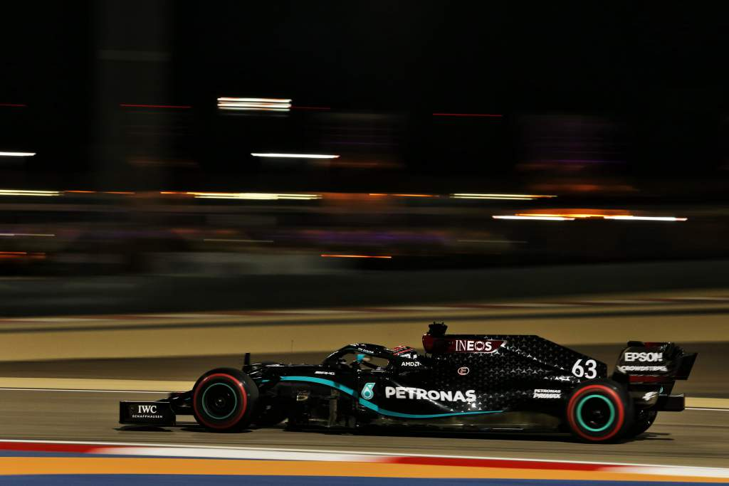 Russell fastest again in practice two, Bottas only 11th - The Race