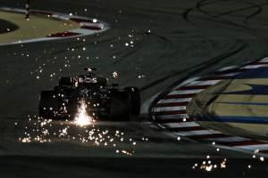 Motor Racing Formula One World Championship Sakhir Grand Prix Practice Day Sakhir, Bahrain
