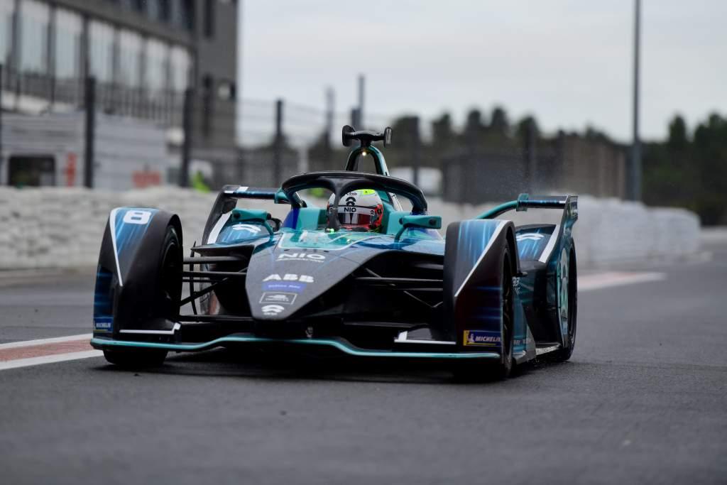 Tom Blomqvist, NIO 333, Formula E test