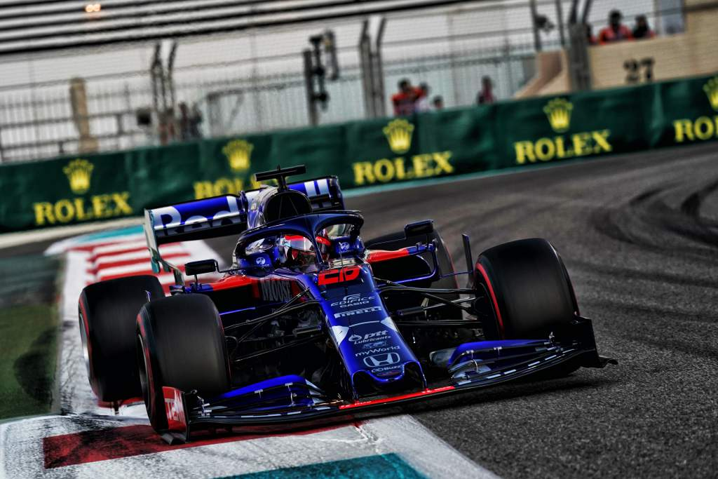 Daniil Kvyat Toro Rosso Abu Dhabi Grand Prix 2019