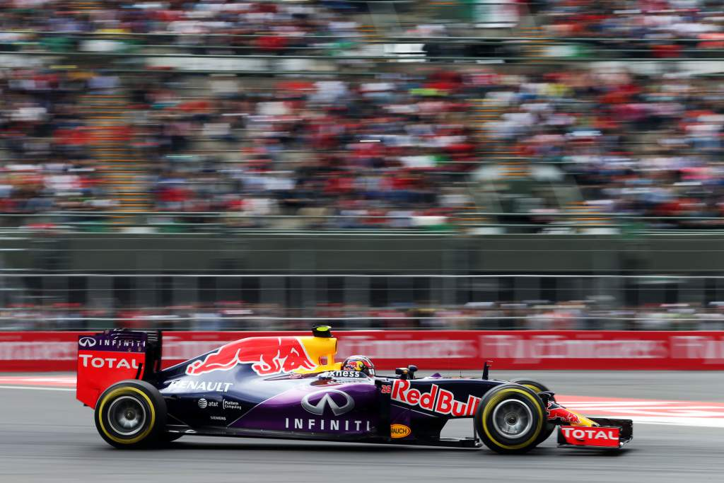 Daniil Kvyat Red Bull Mexican Grand Prix 2015