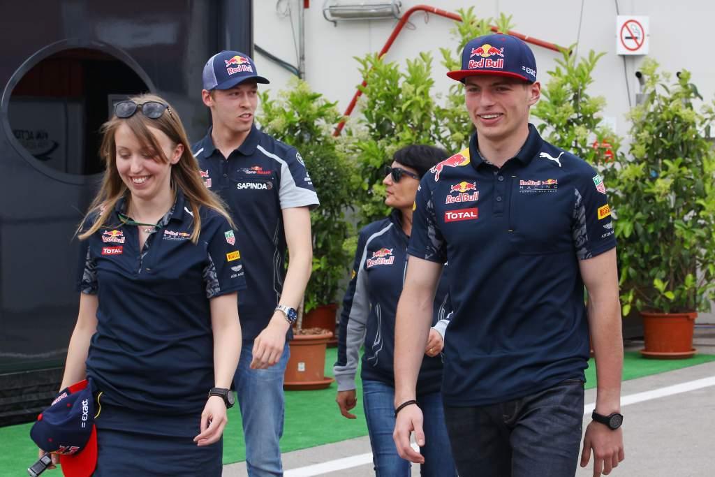 Daniil Kvyat Max Verstappen 2016