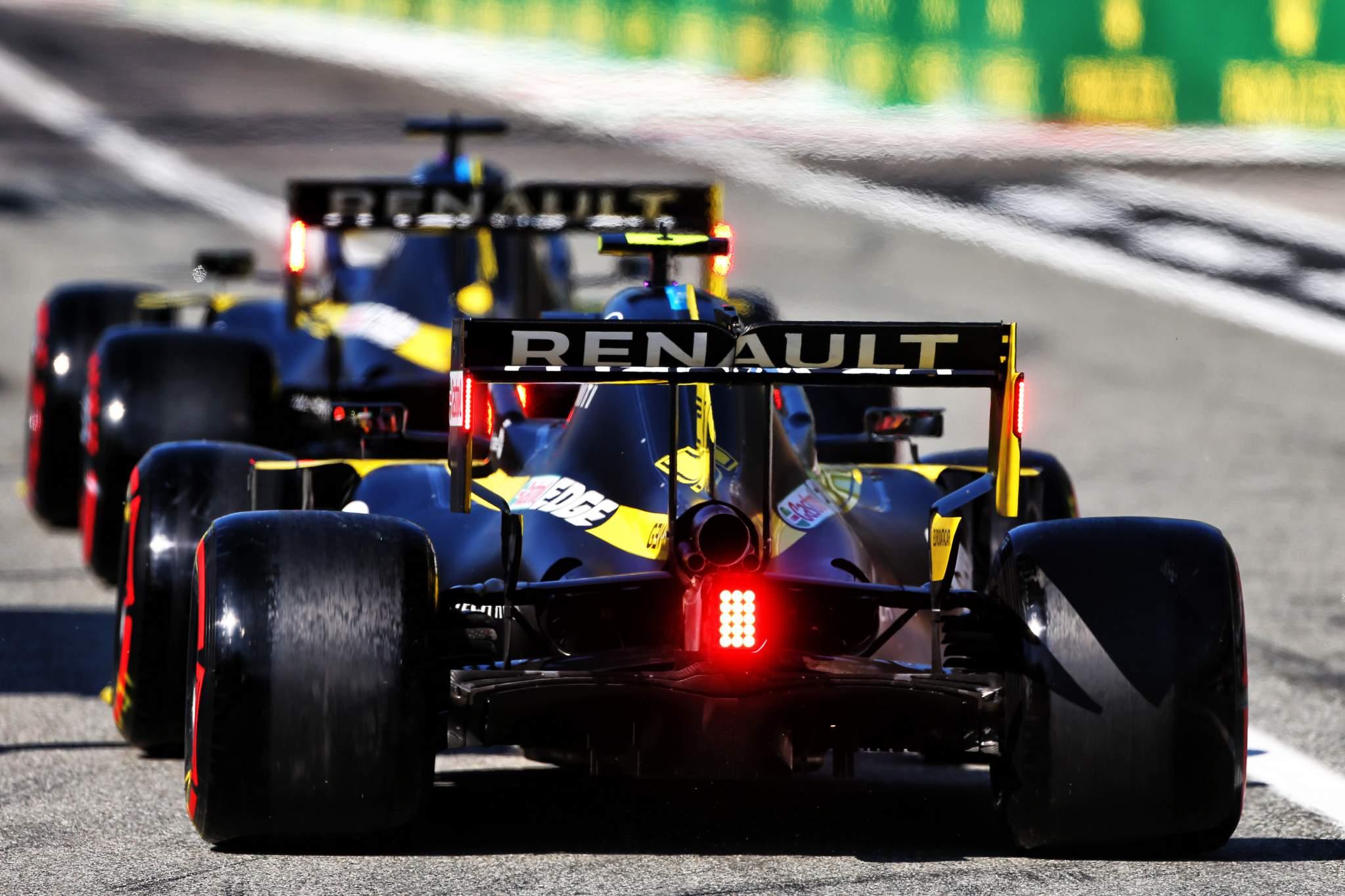 Esteban Ocon Daniel Ricciardo Renault F1 2020