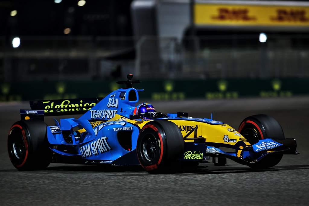 Fernando Alonso, Renault F1 Abu Dhabi demo