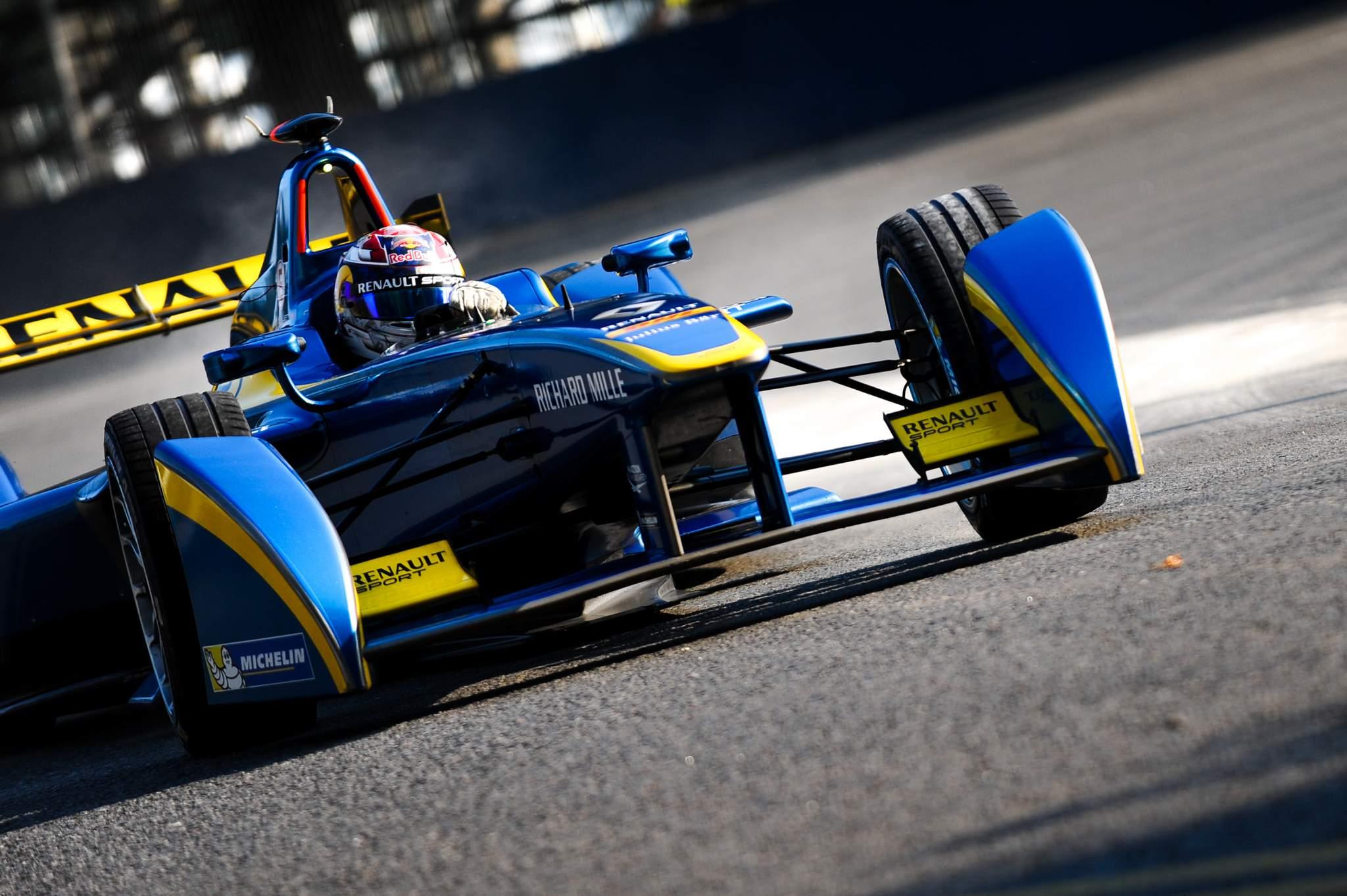Sebastien Buemi Renault Formula E