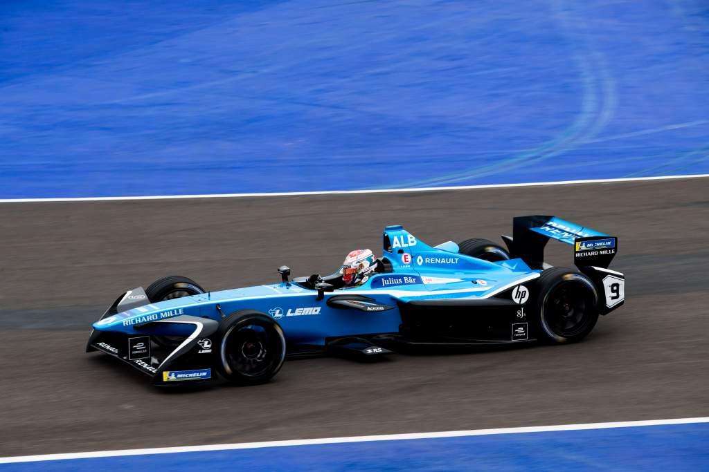 Alexander Albon Nissan Formula E rookie test