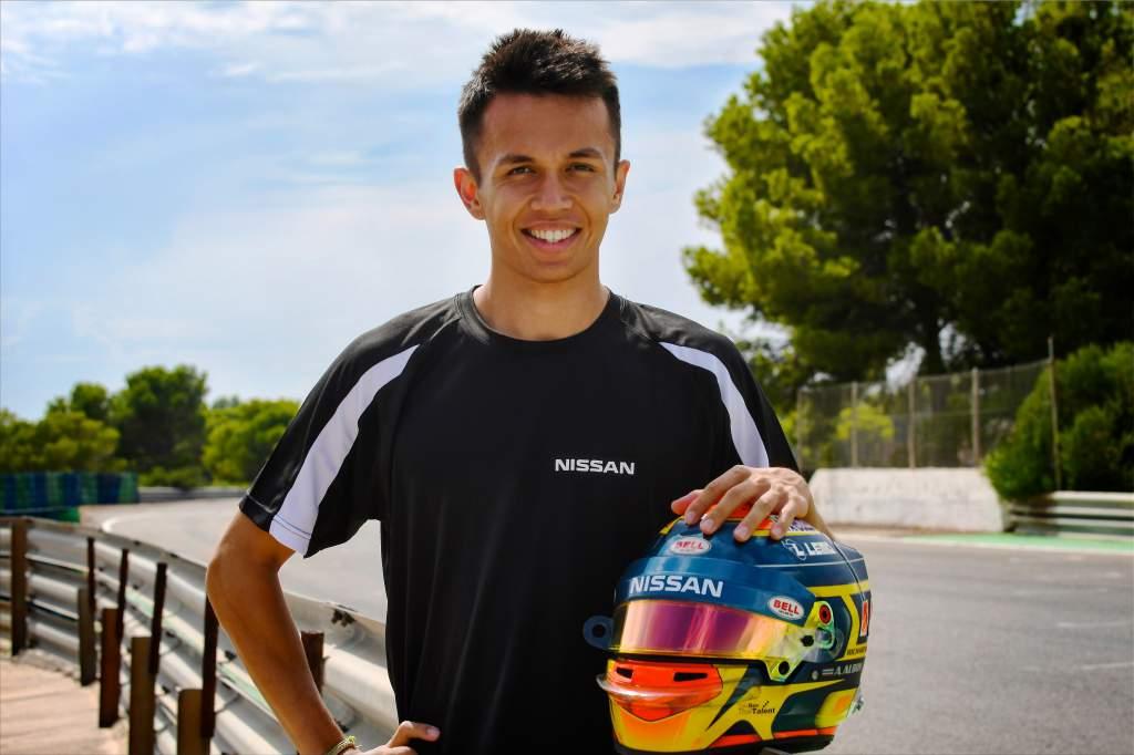 Alexander Albon Nissan Formula E