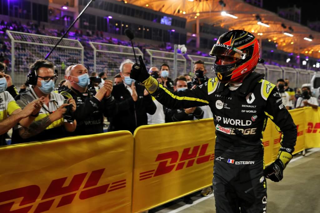 Esteban Ocon Renault F1 Sakhir GP